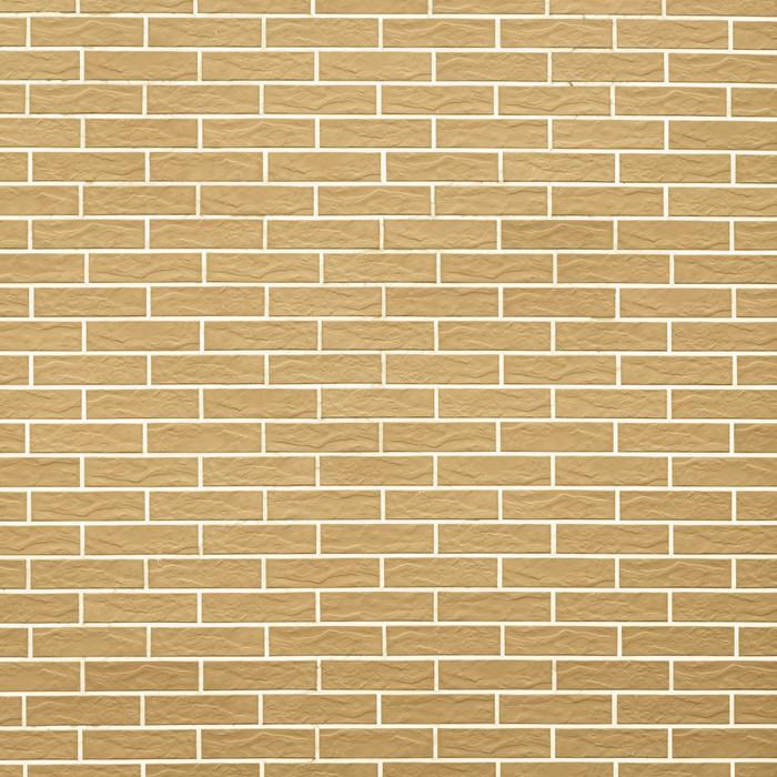 Vinylová Tapeta Detailní záběr na žluté cihlové zdi jako pozadí nebo textury - Struktury