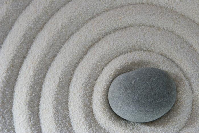 Vinylová Tapeta Zen stone - Náboženství