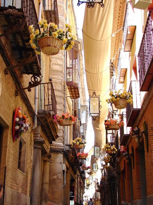 Vinylová Tapeta Ulice Sevilla, Španělsko - Památky