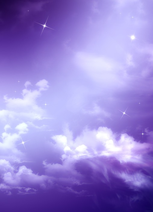 Beautiful Background Of The Evening Sky Wall Mural