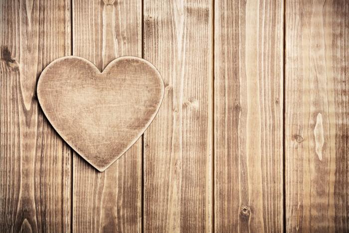 papier peint coeur bois pixers nous vivons pour changer. Black Bedroom Furniture Sets. Home Design Ideas