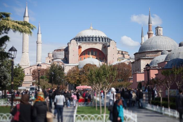 Vinylová Tapeta Hagia Sophia, Istanbul, Turecko - Veřejné budovy