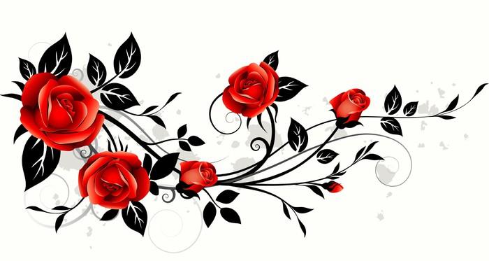 papier peint roses d coratifs pixers nous vivons pour. Black Bedroom Furniture Sets. Home Design Ideas