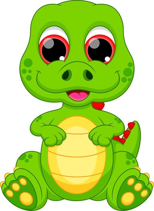 vinilo pixerstick lindo beb u00e9 de dibujos animados cute girl dinosaur clipart cute dinosaur clipart png