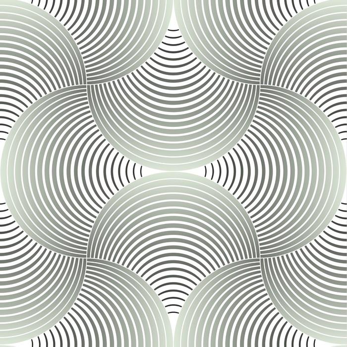 Fototapeta Winylowa Ozdobny płatki siatki geometryczne, abstrakcyjne wektor powtarzalne - Tematy