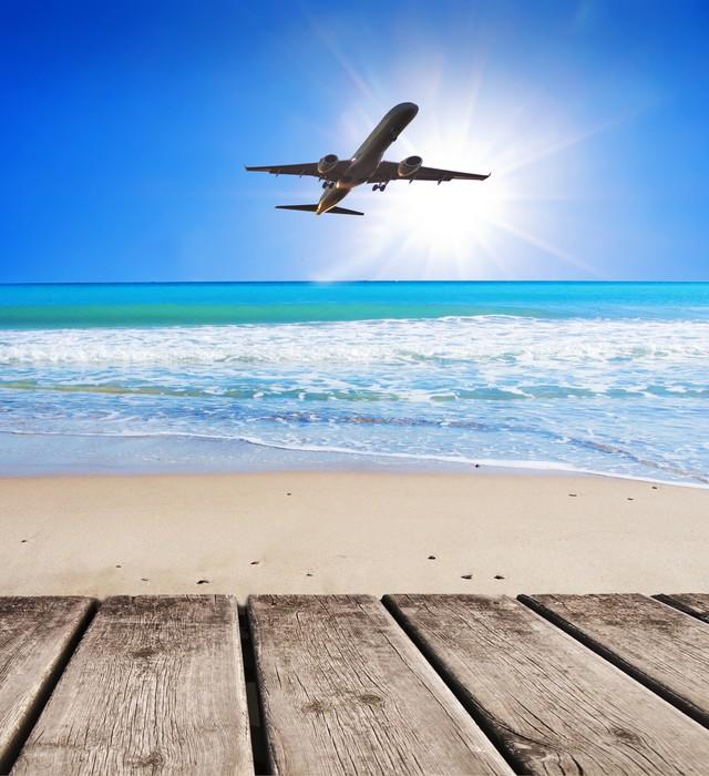 Vinylová Tapeta Výlet do Karibiku - Prázdniny