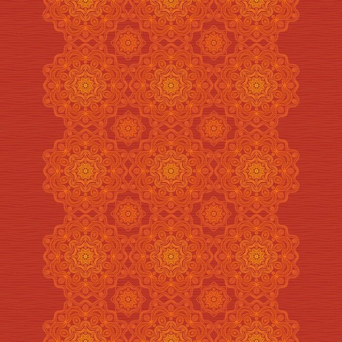 papier peint ethnique bordure d corative avec l 39 ornement. Black Bedroom Furniture Sets. Home Design Ideas