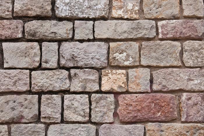 Vinylová Tapeta Kamenná zeď - Surové materiály