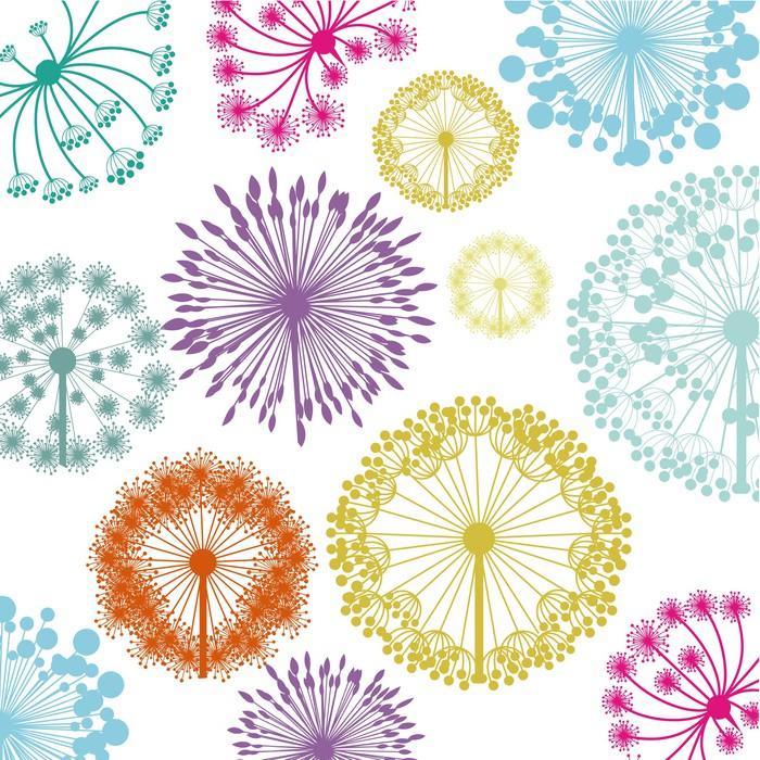 Vinylová Tapeta Květiny designu - Nálepka na stěny