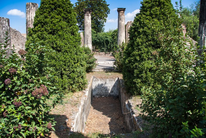 Vinylová Tapeta Ruiny starověkého města Pompeje v Itálii - Evropa