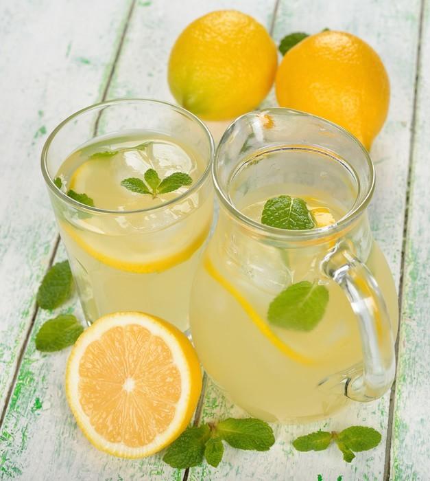 aufkleber frische limonade mit minze pixers wir leben um zu ver ndern. Black Bedroom Furniture Sets. Home Design Ideas