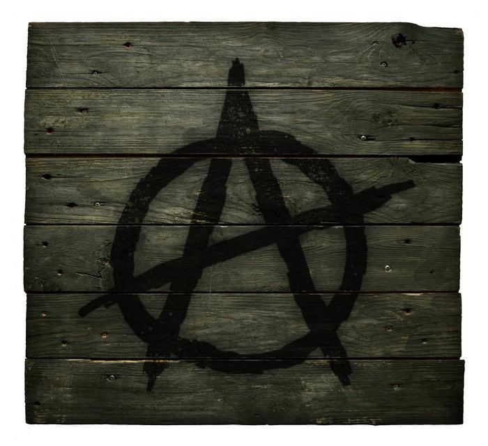 papier peint symbole anarchie pixers nous vivons pour changer. Black Bedroom Furniture Sets. Home Design Ideas