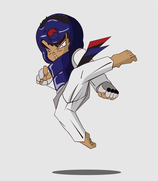 Vinylová Tapeta Taekwondo bojové umění - Témata