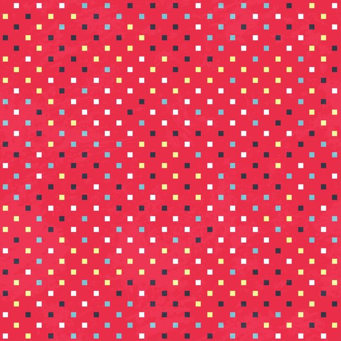 Fotomural Puntos rojos textura con efectos grunge • Pixers ...
