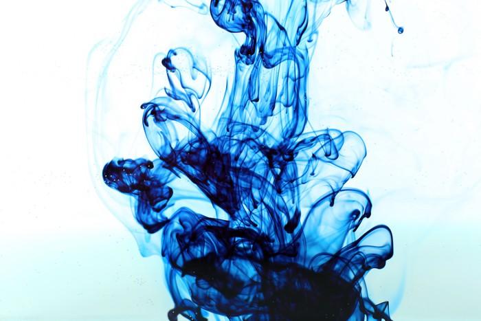 Vinylová Tapeta Inkoust ve vodě izolovaných na bílém - Témata