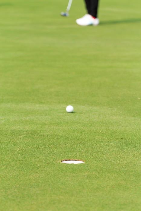Vinylová Tapeta Hrát golf - Individuální sporty