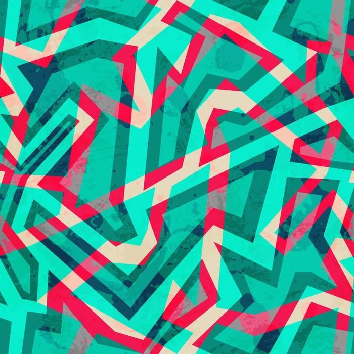 Papier peint mosaique vert seamless avec effet grunge for Kitchen cabinets lowes with poser papier peint