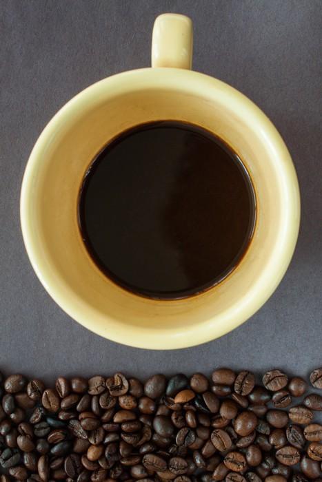 Vinylová Tapeta Espresso s kávová zrna - Témata