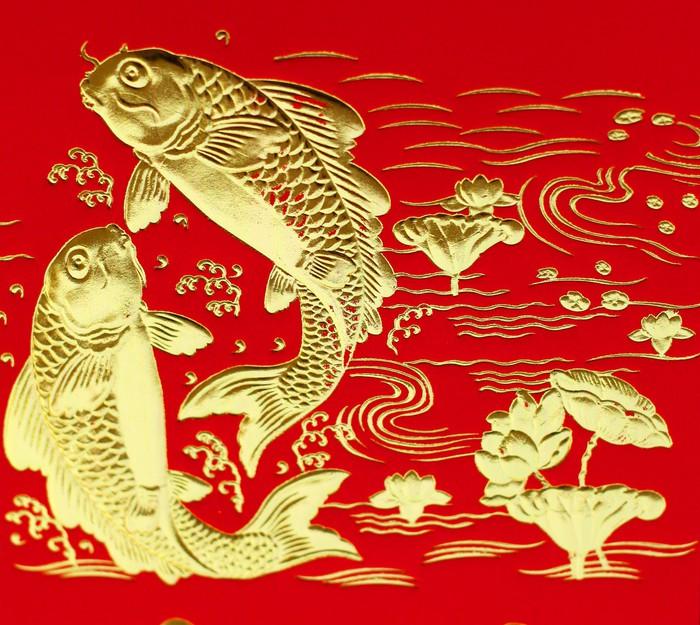 Vinylová Tapeta Slibný double ryby - Mezinárodní svátky