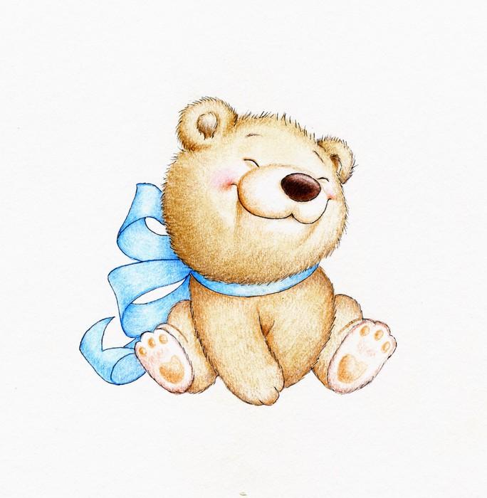 cute teddy bear sticker pixers we live to change