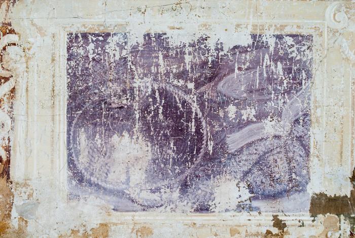 carta da parati affresco sfondo con trama di muro antico