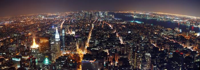 Vinylová Tapeta New York City panorama - Památky