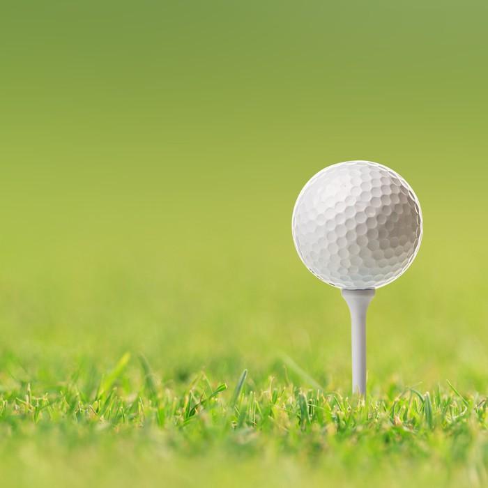 Gerahmtes Poster Golfball • Pixers® - Wir leben, um zu verändern
