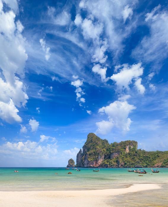 Vinylová Tapeta Krásné zátoky ostrova Phi Phi, Thajsko - Asie