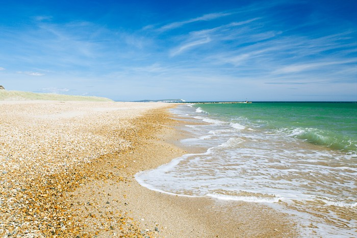 Vinylová Tapeta Bournemouth beach a útesy, Severní moře, UK - Jídla