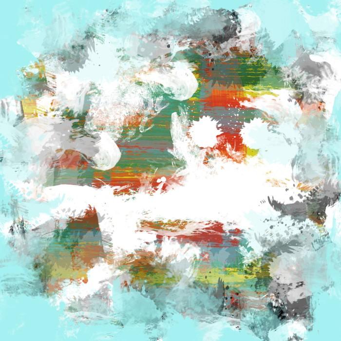 Fototapete Farbe Malen Hintergrund • Pixers®