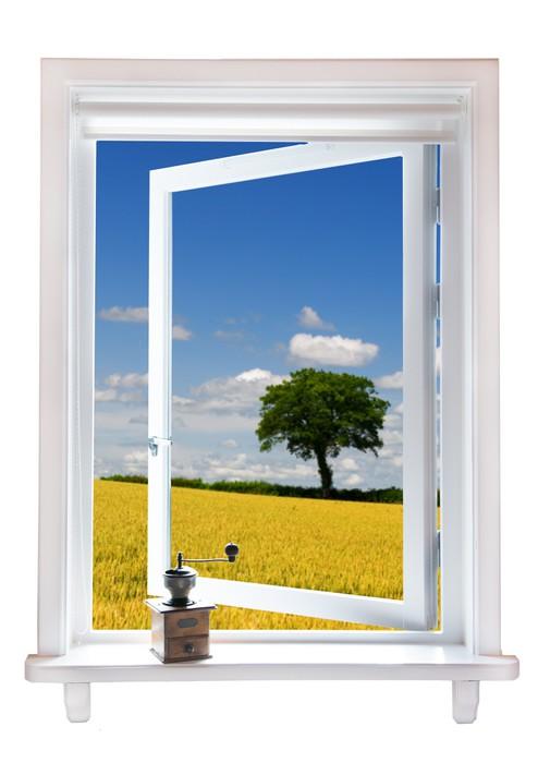 Fototapete fenster mit aussicht pixers wir leben um - Fenster mit aussicht ...