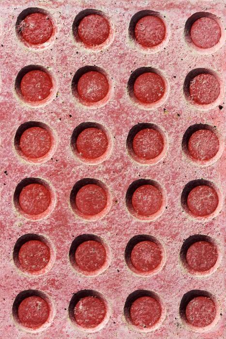 Vinylová Tapeta Kruhové textury na podlaze - Struktury