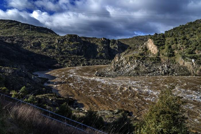 Vinylová Tapeta Río Duero - Evropa