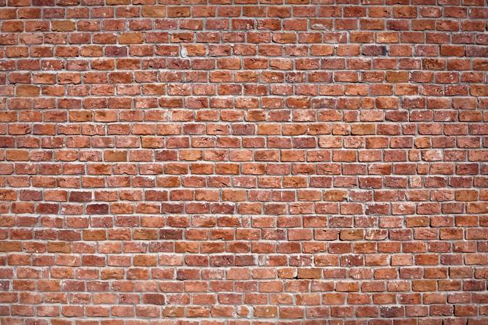 Carta da parati sfondo muro di mattoni pixers viviamo for Carta da parati muro di mattoni