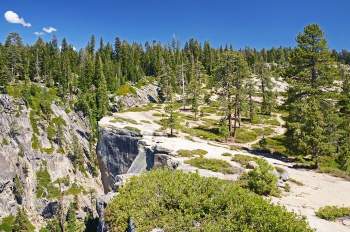 Vinylová Tapeta Taft Point Lookout, Yosemite, Kalifornie - Amerika