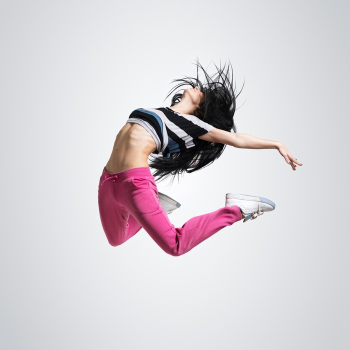 Athletic Girl Dancing Jumping Poster Pixers 174 We Live