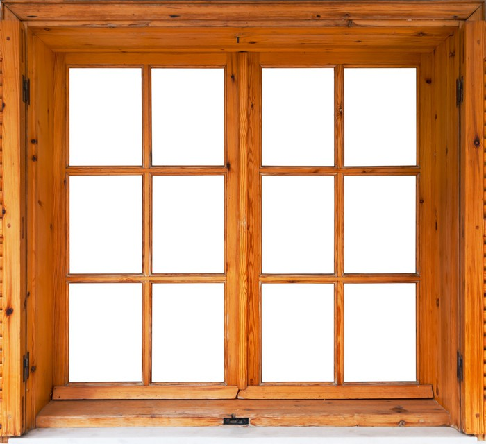 Vinilo pixerstick lado exterior ventana abatible de madera - Vinilos para madera ...
