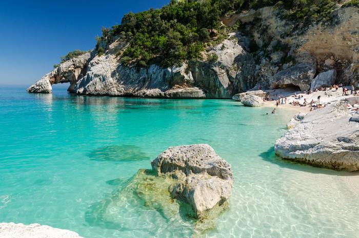 """Vinylová Tapeta Sardinie: Cala Goloritzé """", Ogliastra region - Prázdniny"""