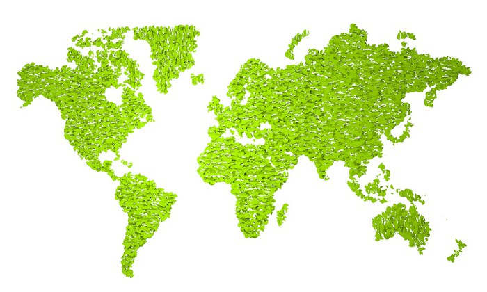 Carta da parati planisfero carta geografica stilizzata for Carta da parati geografica