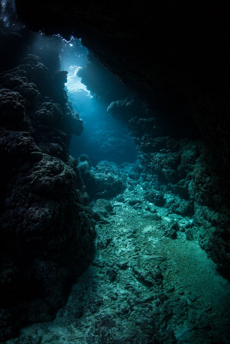 Fototapete Unterwasser Hhle Pixers Wir Leben Um Zu