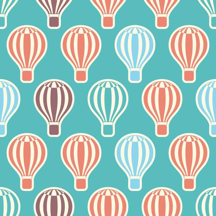 Vinylová Tapeta Hot Air Balloons - Pozadí