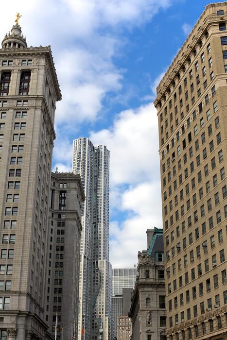 Vinylová Tapeta Dolní Manhattan Architektura - Americká města