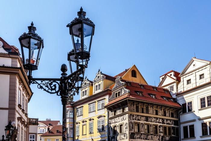 Vinylová Tapeta Historické centrum Prahy - Evropská města