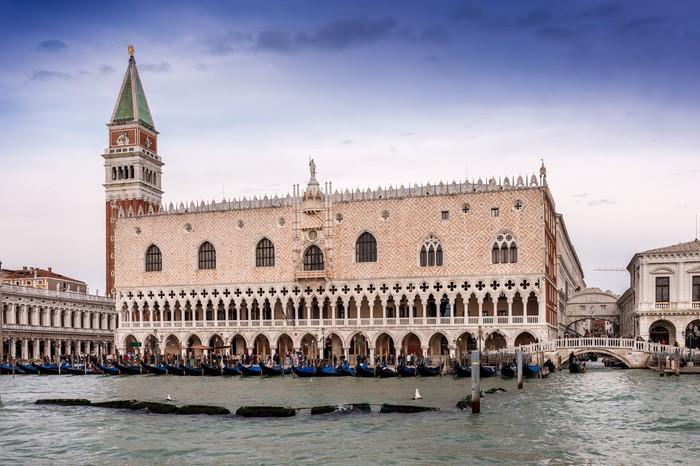 Vinylová Tapeta Palais des Doges et le Campanile, Venise - Evropská města