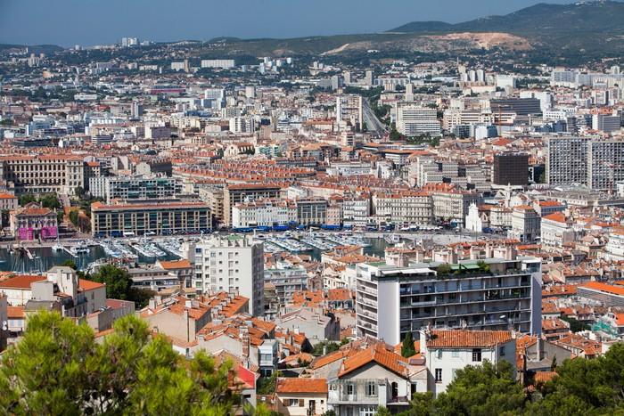 Vinylová Tapeta Marseille - Evropa