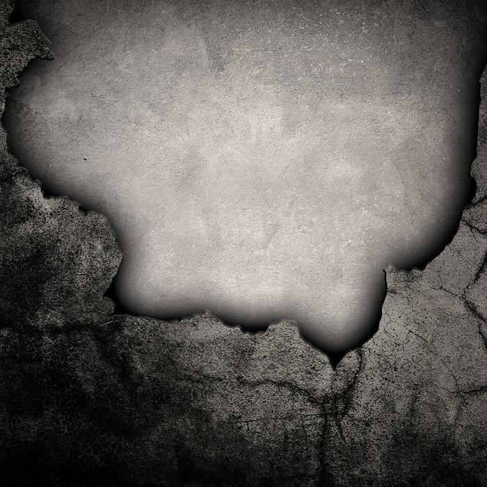 Vinylová Tapeta Rozbité betonové zdi - Život