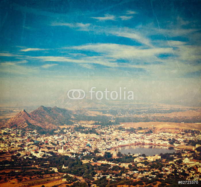 Vinylová Tapeta Svaté město Pushkar. Rajasthan, Indie - Asie
