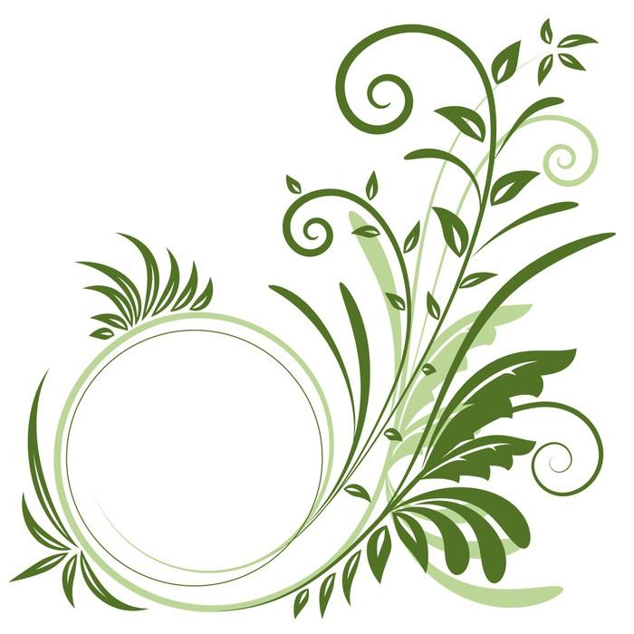 Vinylová Tapeta Ornament - Rostliny