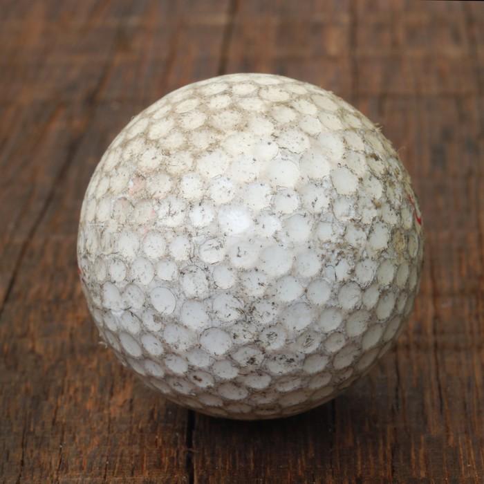Gerahmtes Poster Alte Golfball • Pixers® - Wir leben, um zu verändern