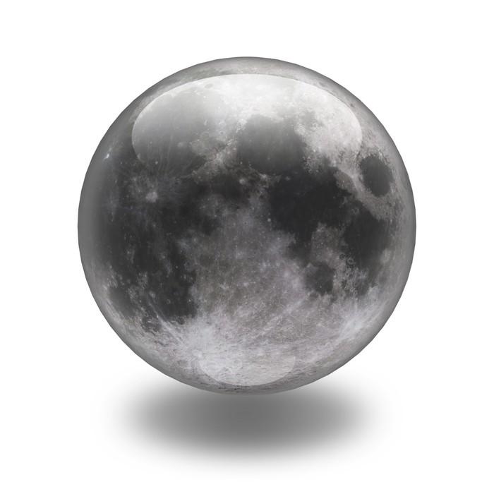 Vinylová Tapeta Luna - Meziplanetární prostor